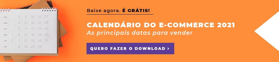Calendário do e-commerce 2021